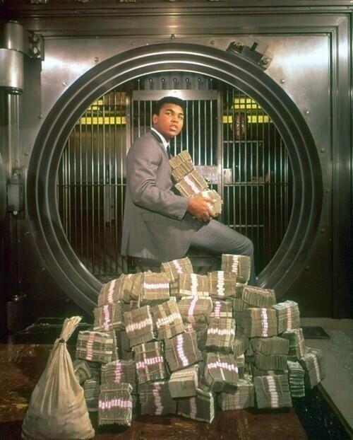 Muhammad Ali bank vault
