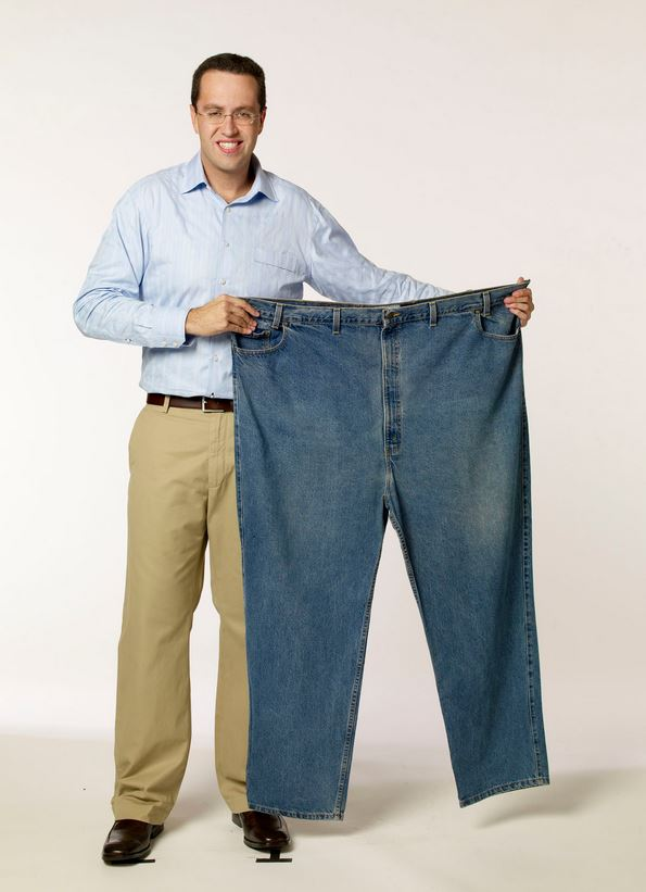 Jared Fogle pants