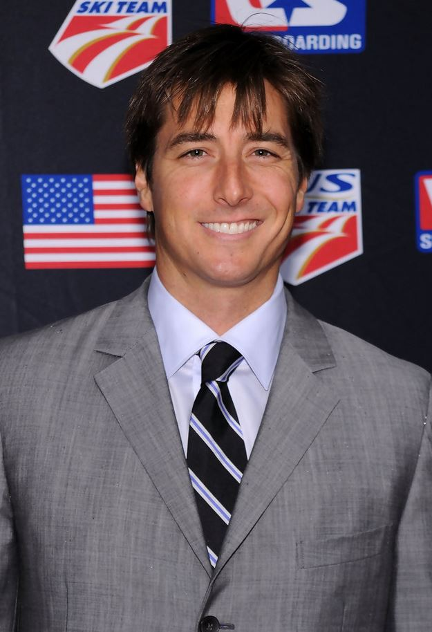 Jonny Moseley grey suit