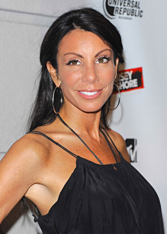 Danielle Staub black dress