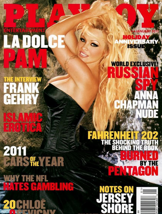 Pamela Anderson Poses for Playboy