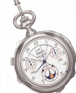 Caliber 89 pocketwatch by Patek Philippe