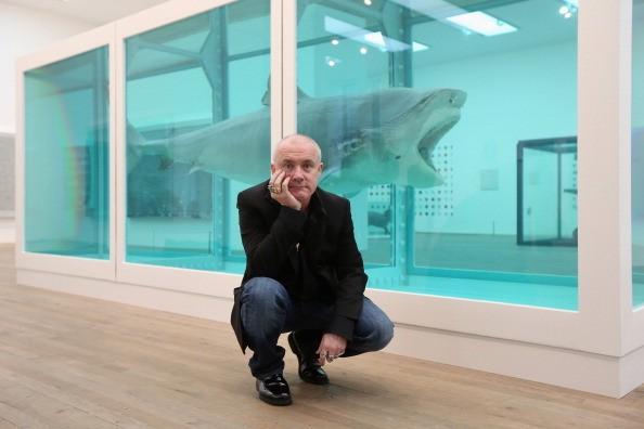 Richest Artist Damien Hirst