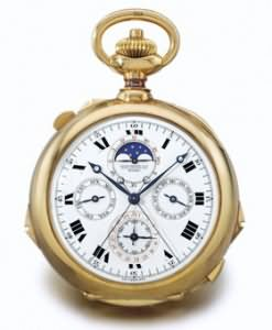 Grande Complication pocketwatch by Patek Philippe