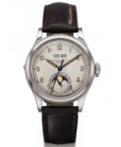 Model 1591 wristwatch by Patek Philippe