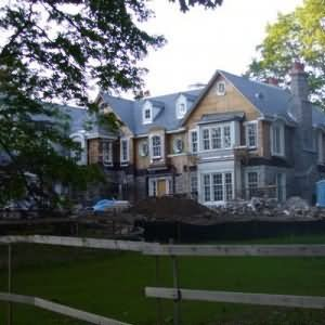 Beyonce Knowles and Jay-Z Home
