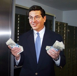 Washington Redskins owner Dan Snyder net wort