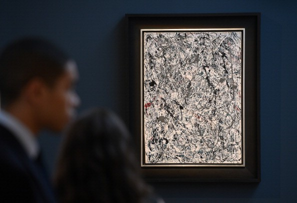 The world's most expensive painting - Jackson Pollock. No. 5, 1948