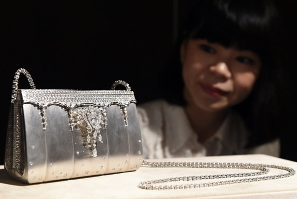 Diamond Studded Platinum Handbag by Ginza Tanaka - the most expensive purse in the world