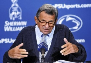 What was Joe Paterno's salary?