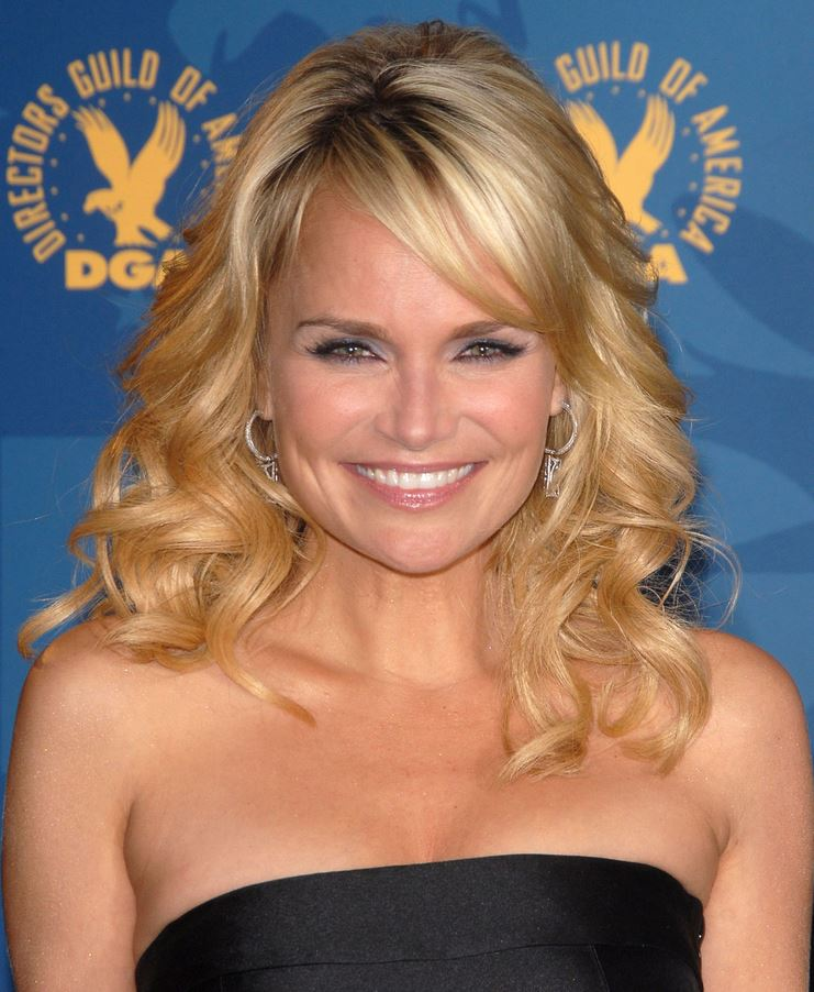 Kristin Chenoweth black dress