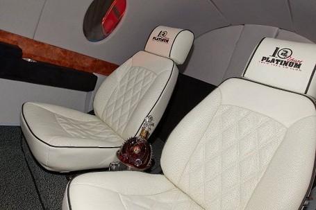 Seats in a Access Custom Jet