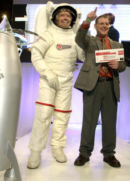 That time Richard Branson got super powers from space radiation