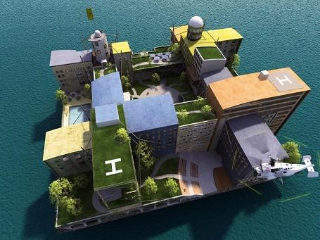 Peter Thiel Libertarian Island