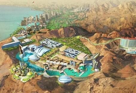 Star Trek theme park in Jordan
