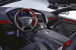 Interior of Maybach Exelero
