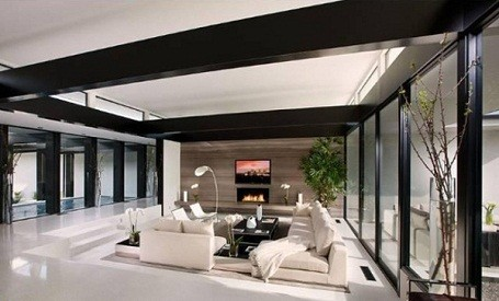 vera wang beverly hills living room