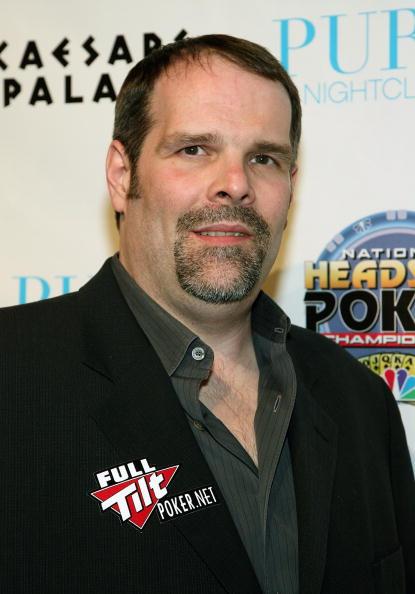 Poker champ Howard Lederer
