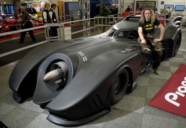 "The Batmobile from ""Batman Forever"""