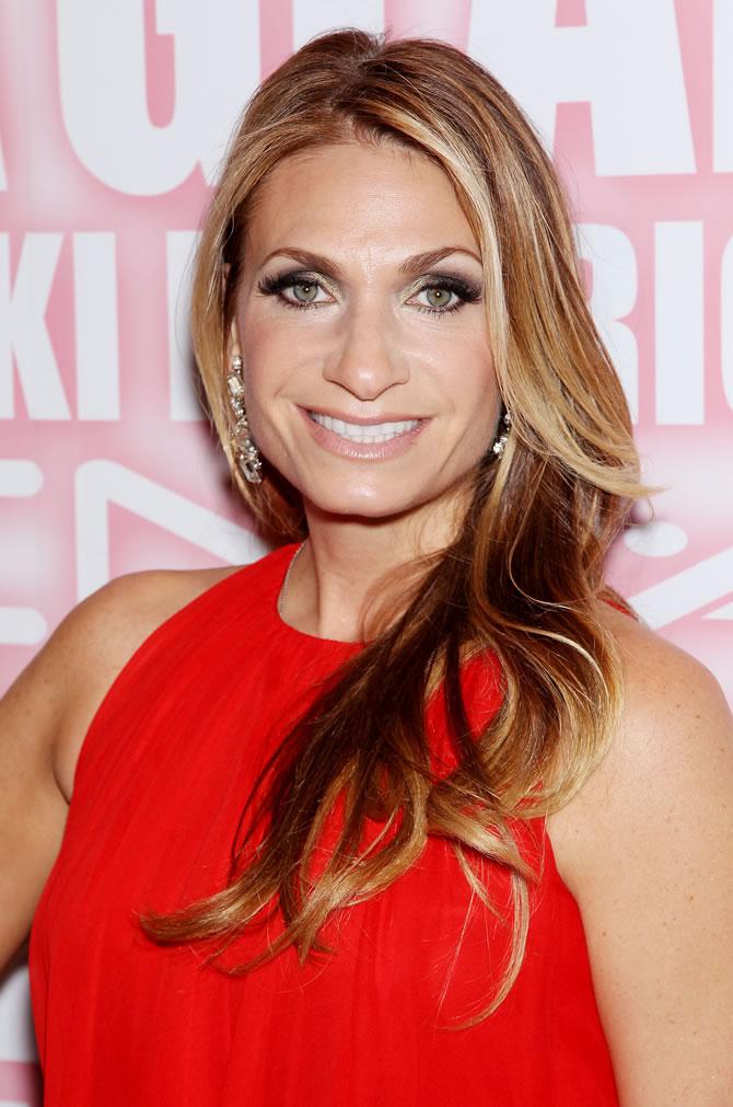 Heather Thomson red dress