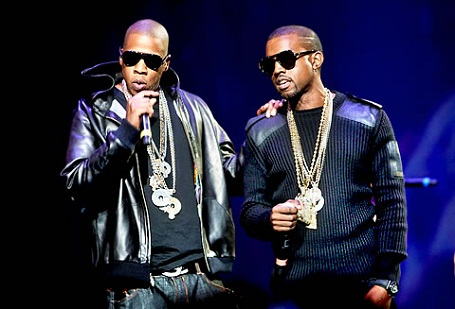 Jay-Z and Kanye West for 'Watch The Throne""