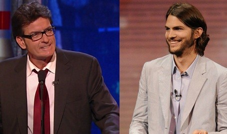 Charlie Sheen vs. Ashton Kutcher