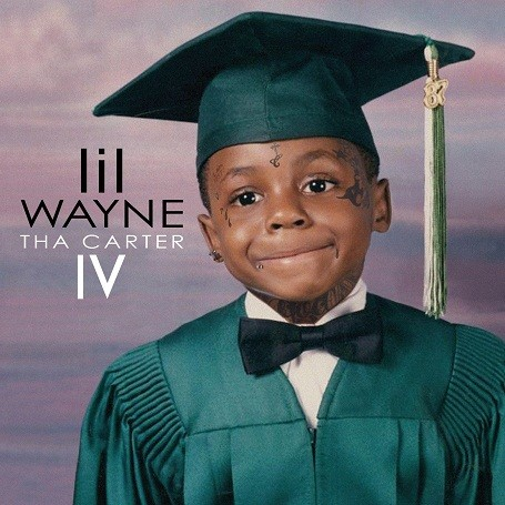 """LIl Wayne's """"Tha Carter 4"""" Album Cover"""