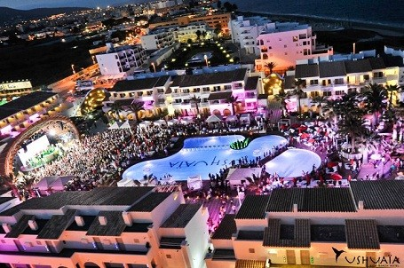 Ushuaia Beach Hotel in Ibiza, Spain