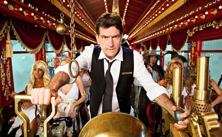 Charlie Sheen on the Crazy Train