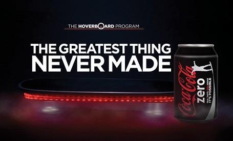coke zero hoverboard program print ad 2