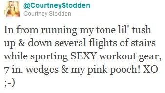 Tweet by Courtney Stodden
