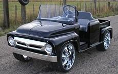 '56 pick-up truck golf cart