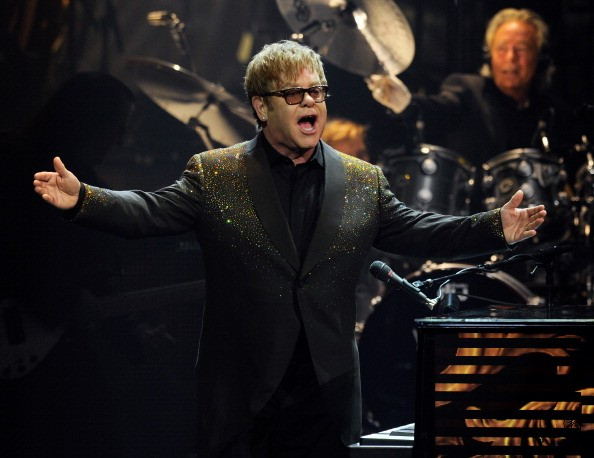 Elton John first performance on his Million Dollar Piano