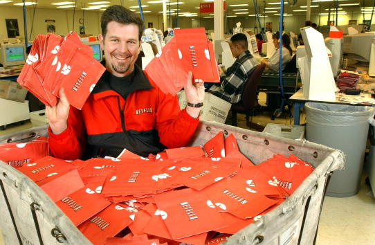 Will Reed Hastings huge net worth loss force him to sleep in the streets in a bed of Netflix DVD envelopes?