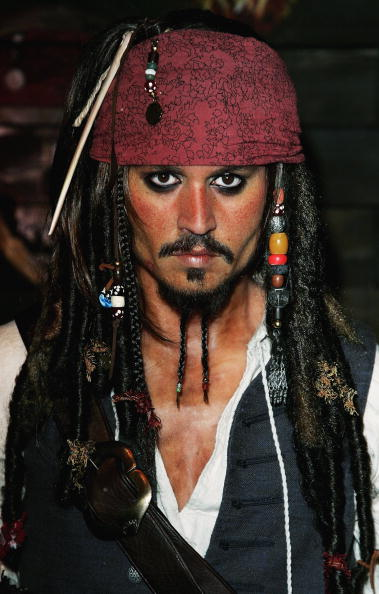 Johnny Depp got paid $300 million for dressing up as a pirate