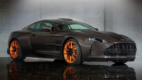 A limited edition Aston Martin DB9 by Mansory