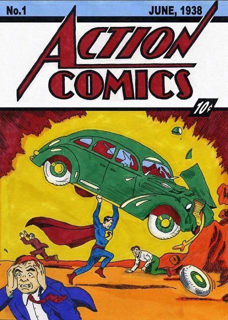 Nicolas Cage's copy of Action Comics #1