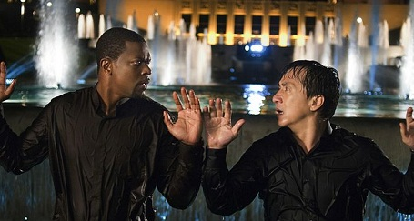 Christ Tucker and Jackie Chan starring in Rush Hour 3
