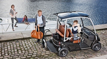 Garia golf cart parts come from the makers of Aston Martin, Ducati, Jaguar, Rolls-Royce and Bentley