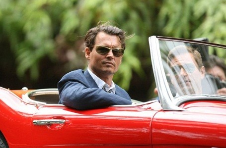 Johnny Depp as Hunter S. Thompson in the Rum Diary