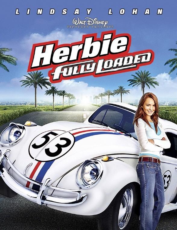 Lindsay Lohan starring in Herbie Fully Loaded