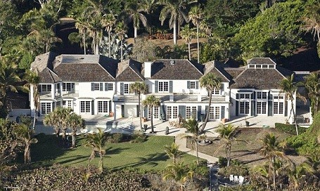 Tiger Woods ex-wife Elin Nordegren's $12 million mansion in North Palm Beach, Florida.