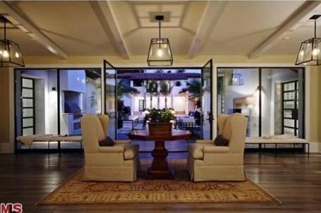 Matt Groening's living room in his new Santa Monica, California home