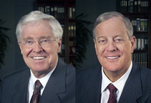 How much are the Koch Brothers worth?