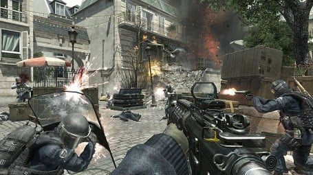 Activision Blizzard's Modern Warfare 3 competes directly with rival publisher Electronic Arts' Battlefield 3.