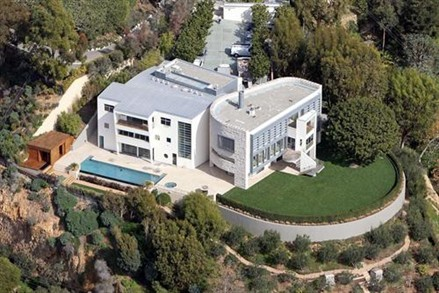 Tom Hanks and wife Rita Wilson's home in the Pacific Palisades, California, which cost $26 million