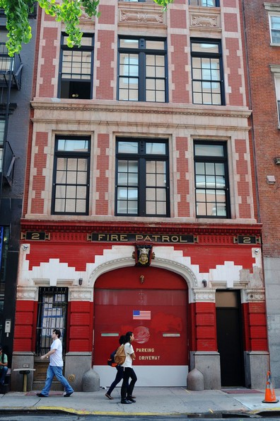 Anderson Cooper's firehouse home in New York City.