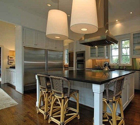 Kitchen in Taylor Swift's home in Nashville, Tennessee.
