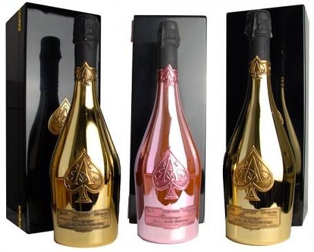 """Armand de Brignac Brut Gold """"Ace of Spades"""" Champagne"""