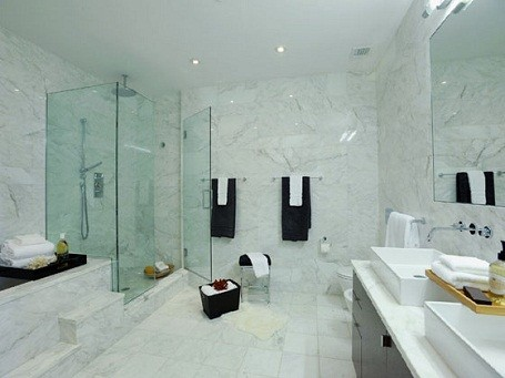 Blake Lively's bathroom in her Manhattan penthouse.